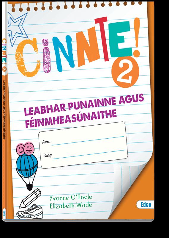 Cinnte! 2 Leabhar Punainne Agus Féinmheasúnaithe 2019