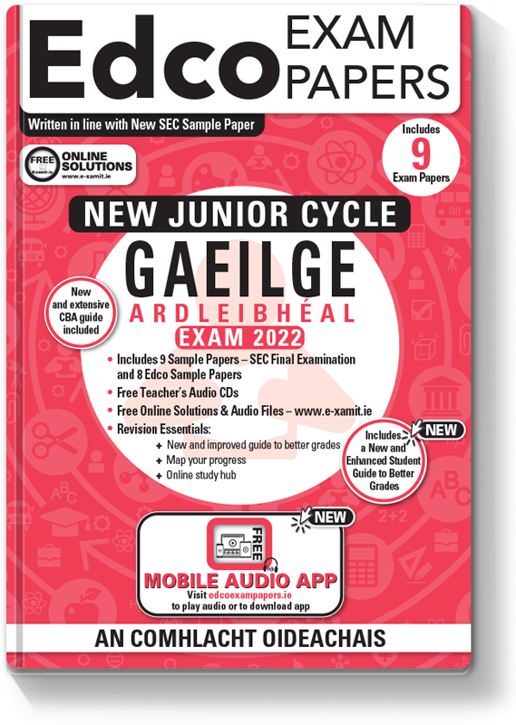 JC Irish Higher Level Exam Papers 2020