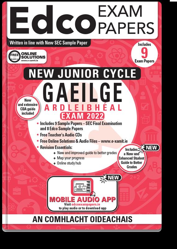 JC Irish HL Exam Papers 2021