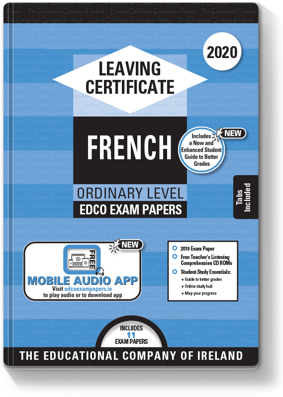 LC French Ordinary Level Exam Papers 2020