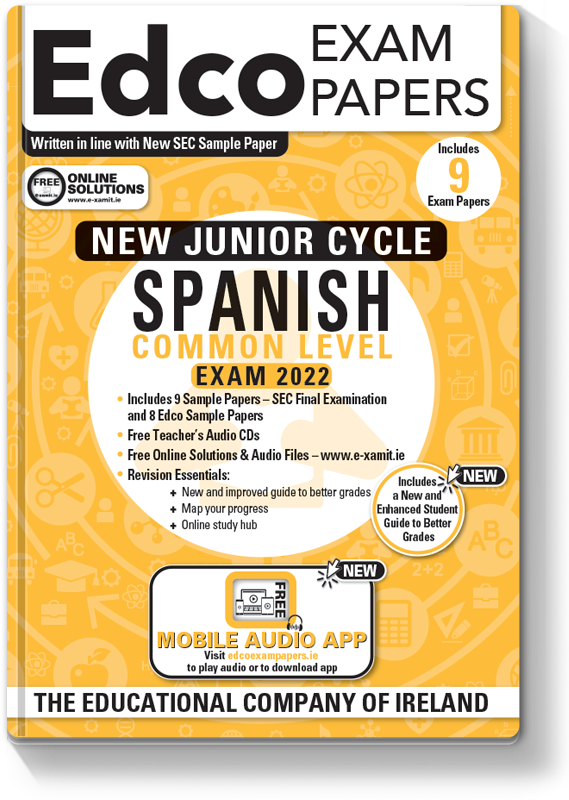 JC Spanish Common Level Exam Papers 2020