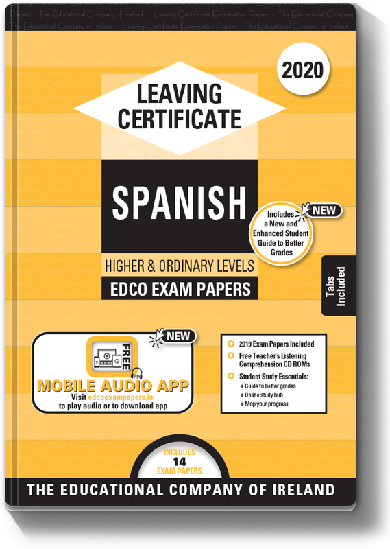 LC Spanish Higher & Ordinary Level Exam Papers 2020