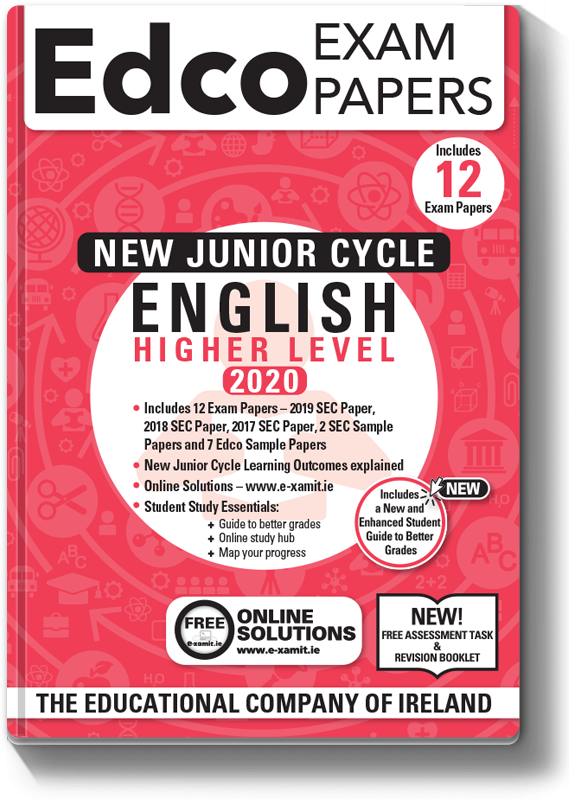 JC English Higher Level Exam Papers 2020