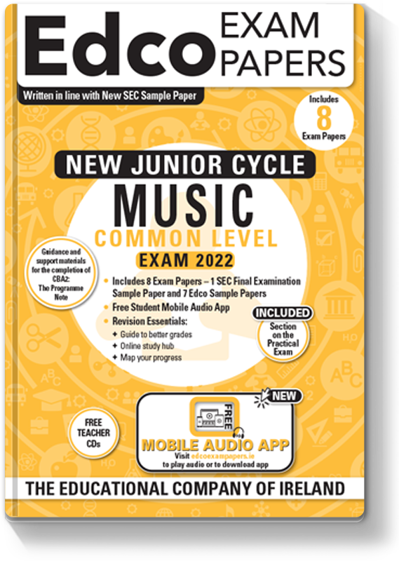 New JC Music Common Level Exam Papers 2020