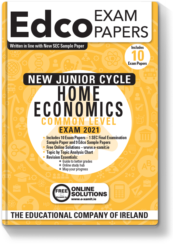 New JC Home Economics Common Level Exam Papers 2020