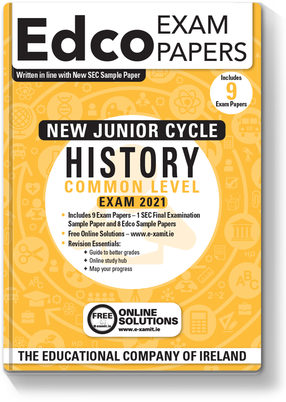 New JC History Common Level Exam Papers 2020
