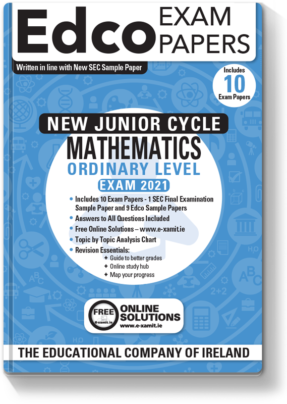 New JC Maths Ordinary Level Exam Papers 2020