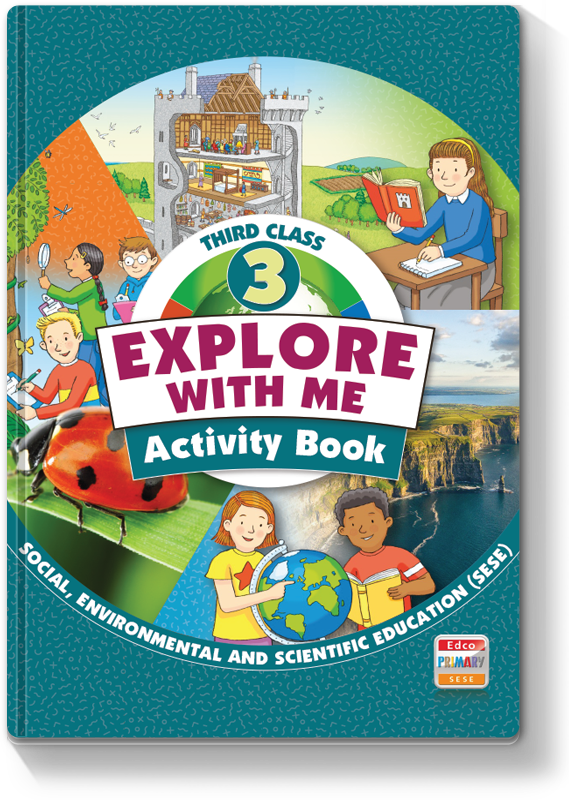 *C* Explore with Me 3rd Class - Activity Book
