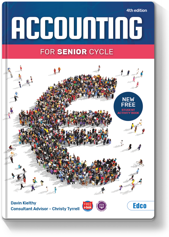 #8 Accounting for Senior Cycle 4th Edition