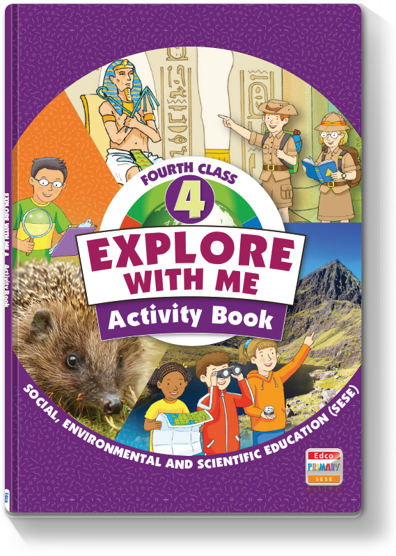 Explore With Me 4th Class - Activity Book