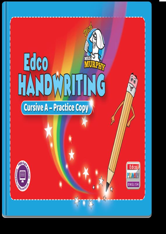 Edco Handwriting Cursive A - Practice Copy 2021