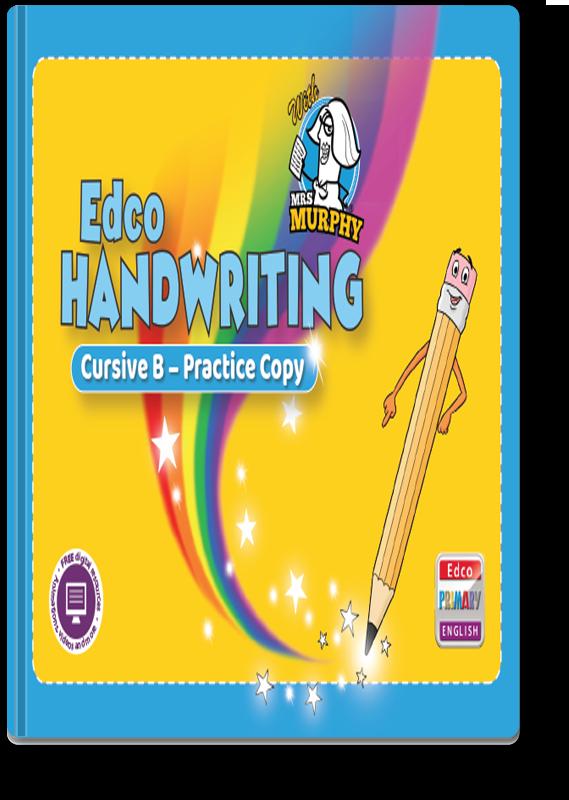 Edco Handwriting Cursive B - Practice Copy 2021