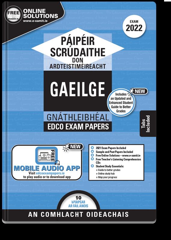LC Irish OL Exam Papers 2021