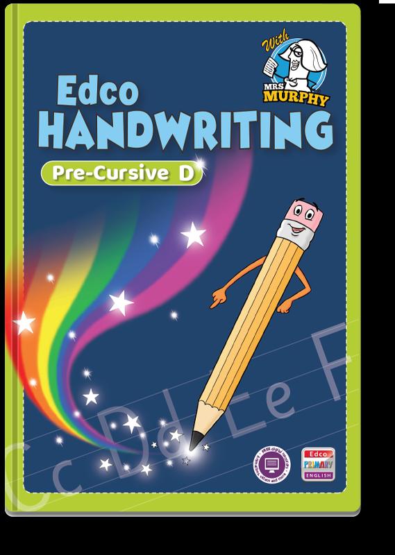 Edco Handwriting Pre-Cursive D 2021