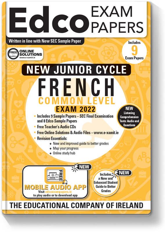 JC French Exam Papers 2021