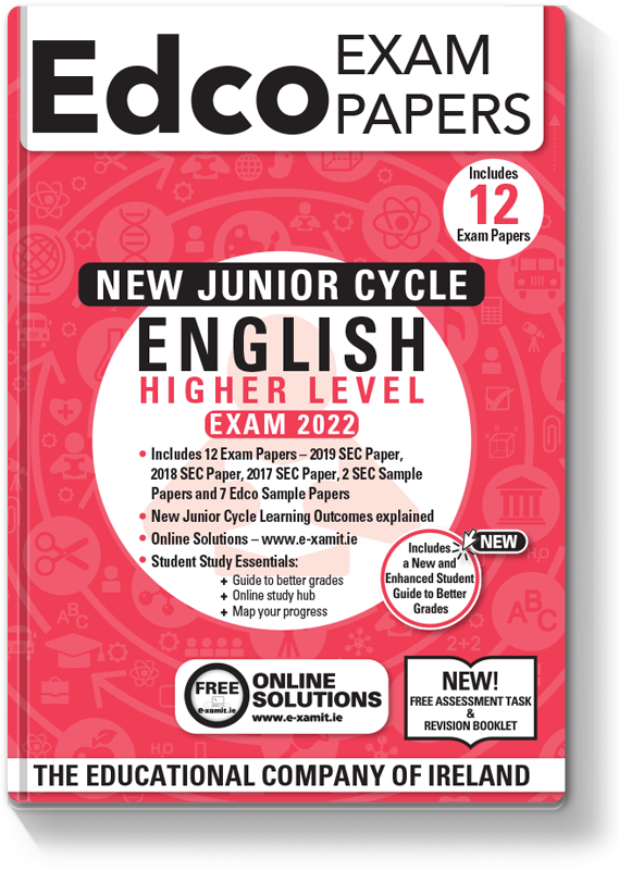 JC English HL Exam Papers 2021
