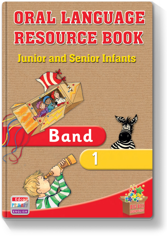 BBA Oral Language Resource Book Band 1 2012