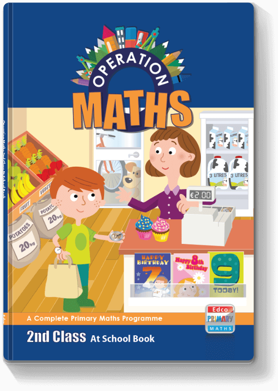 Operation Maths 2nd Class - At School Book 2016