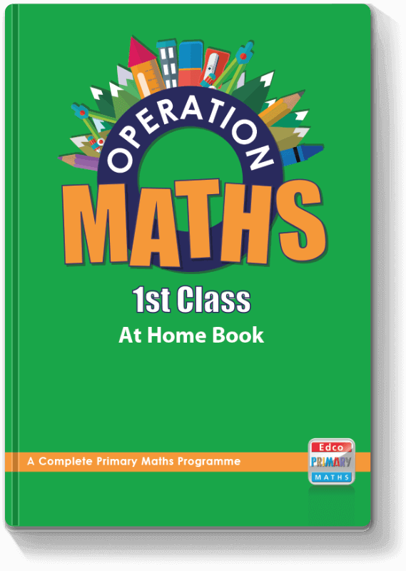 Operation Maths 1st Class - At Home Book 2016