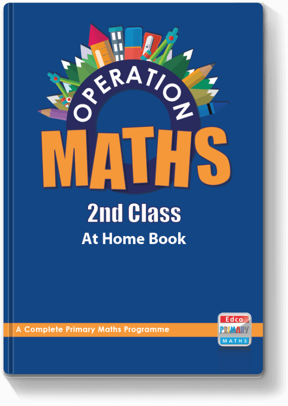 Operation Maths 2nd Class - At Home Book 2016
