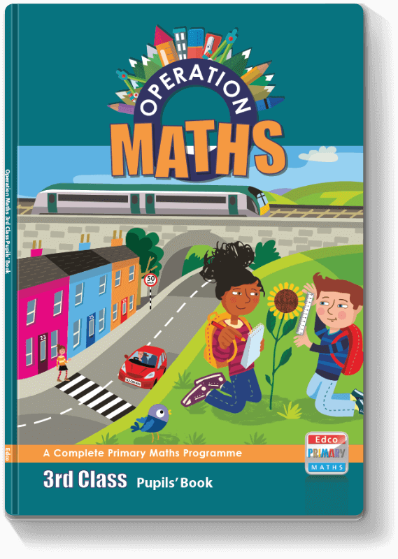 Operation Maths 3rd Class - Pupils' Book 2016