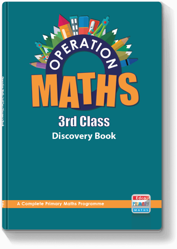 Operation Maths 3rd Class - Discovery Book 2016