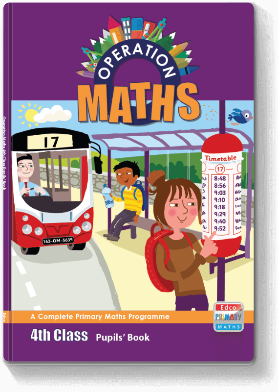Operation Maths 4th Class - Pupils' Book 2016