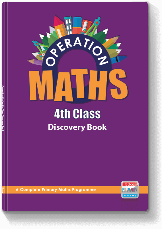 Operation Maths 4th Class - Discovery Book 2016