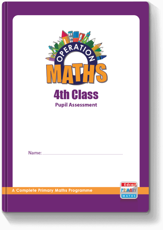 Operation Maths 4th Class - Pupil Assessment 2016