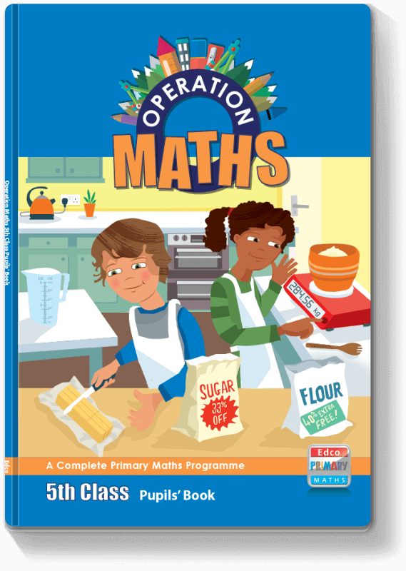 Operation Maths 5th Class - Pupils' Book 2016