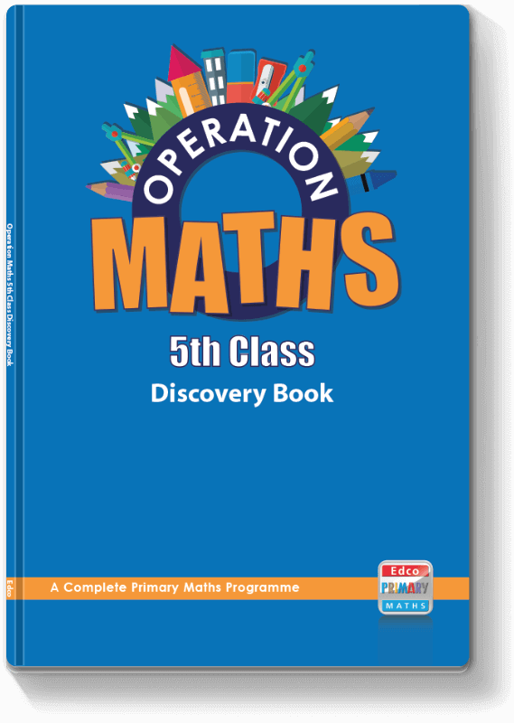 Operation Maths 5th Class - Discovery Book 2016