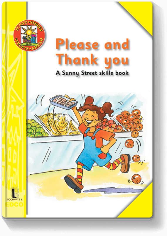 Please and Thank You - A Sunny Street skills book 2000