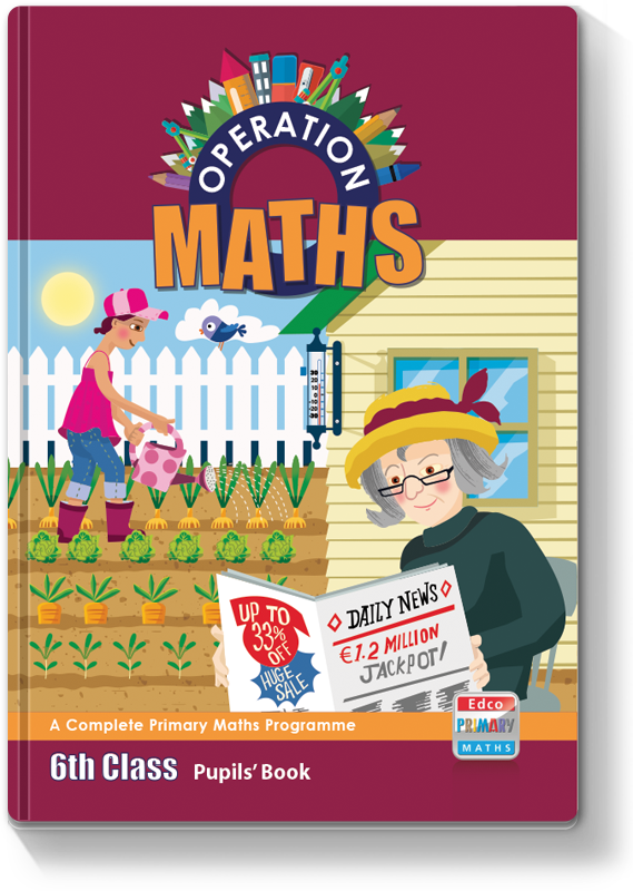 Operation Maths 6th Class - Pupils Book 2016