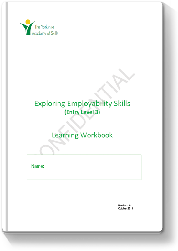 Entry Level 3 Employability Workbook 2011