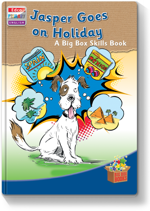 Jasper Goes on Holiday - Skills Book 2012