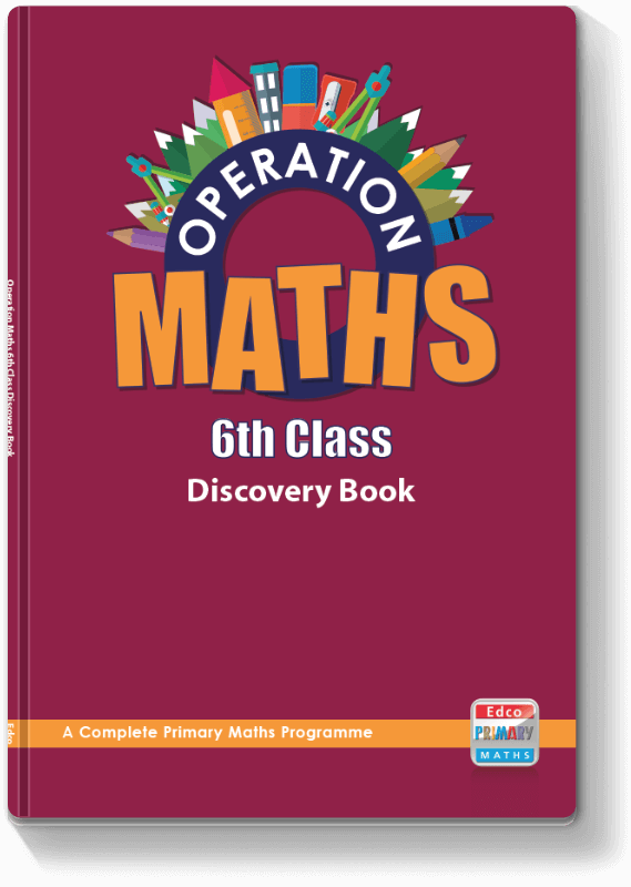 Operation Maths 6th Class - Discovery Book 2016