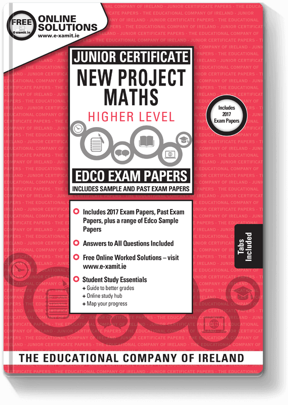 Edco Exam Papers JC Maths HL 2017