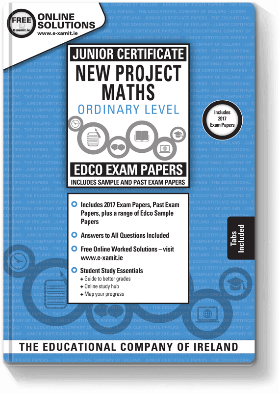 Edco Exam Papers JC Maths OL 2017