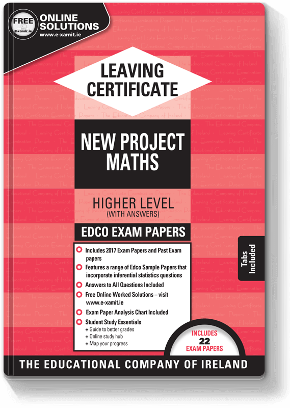 Edco Exam Papers LC Maths HL 2017