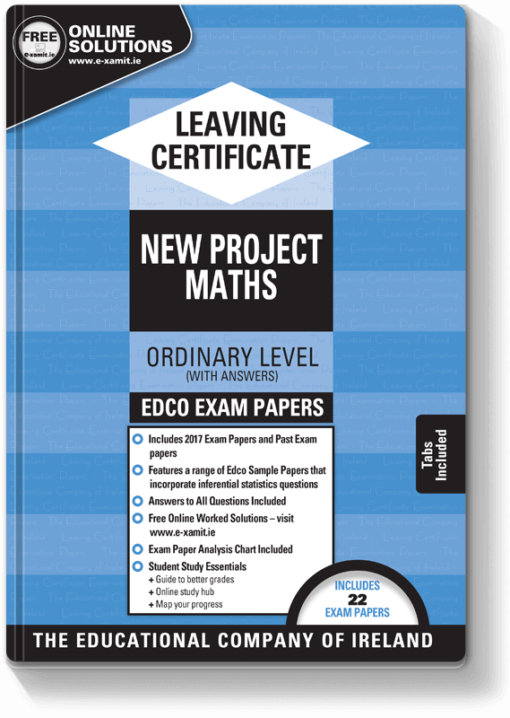 Edco Exam Papers LC Maths OL 2017