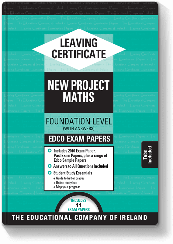 Edco Exam Papers LC Maths FL 2016