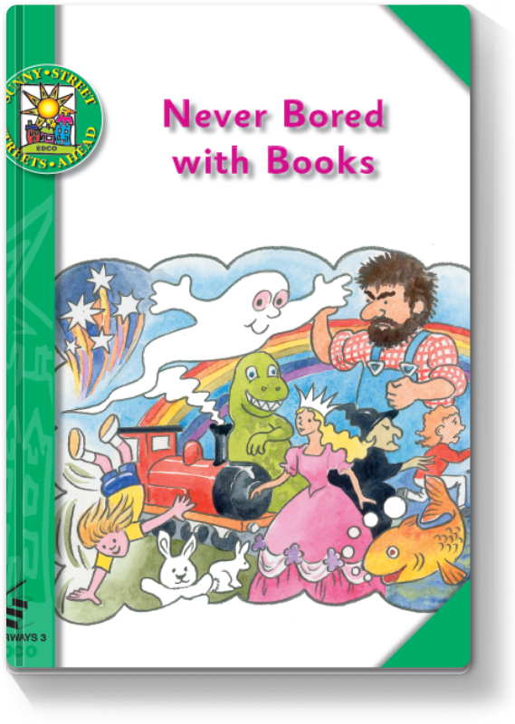 Never Bored with Books 2000