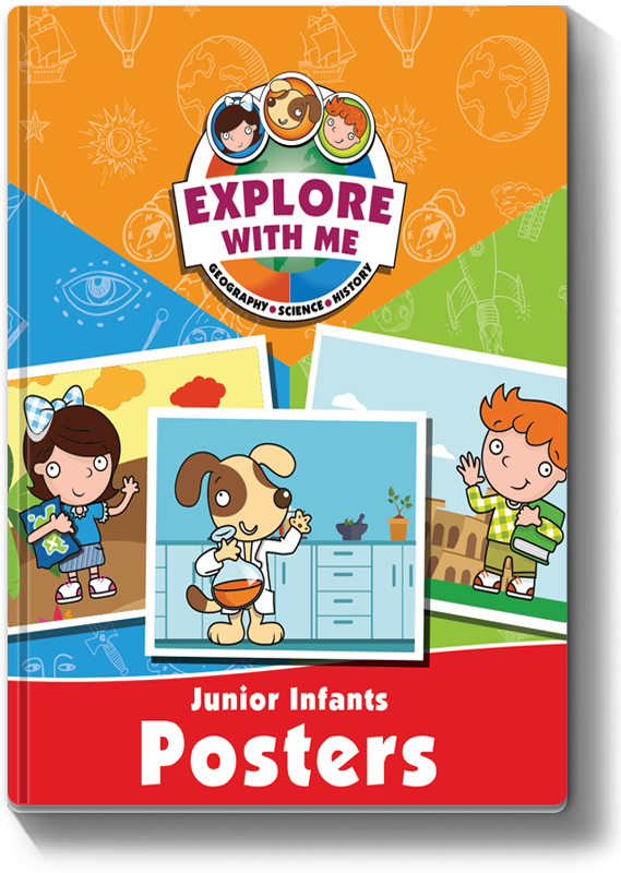 Explore With Me JI Poster Book 2019
