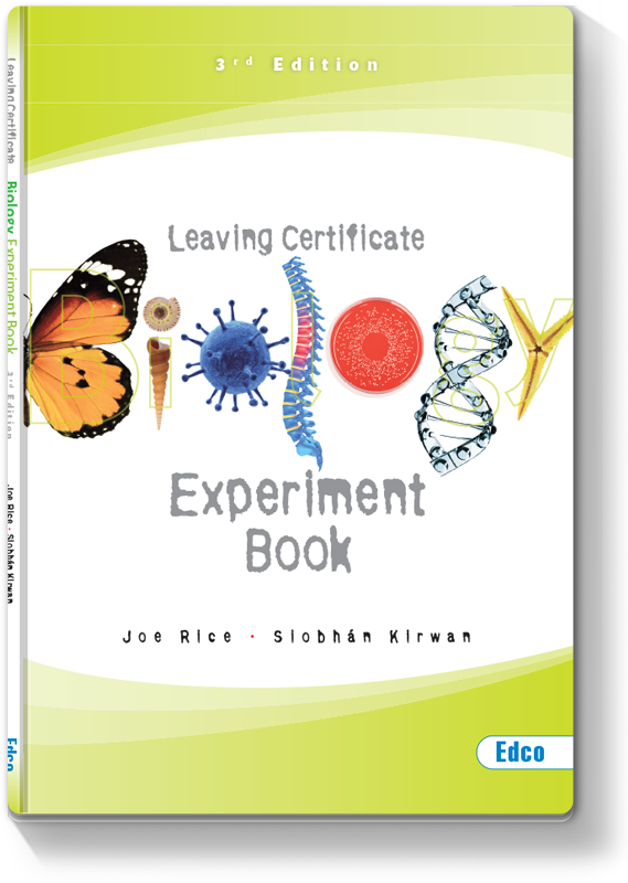 Biology Experiment Book 2013