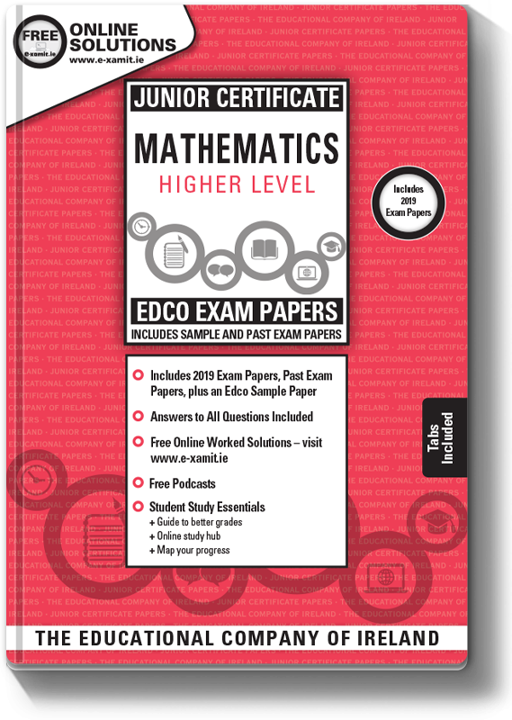 Maths Exam Papers JC HL 2019