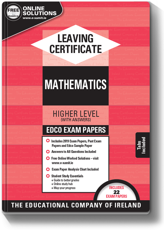Maths Exam Papers LC HL 2019