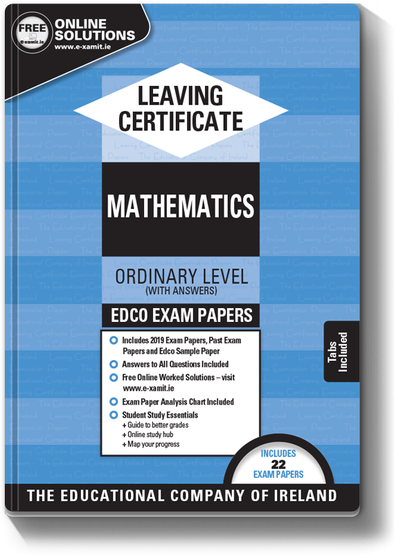 Maths Exam Papers LC OL 2019